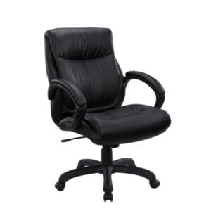 Sierra Mid Back Leather Chair