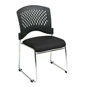 8455-30 Visitors Chair with Plastic Back