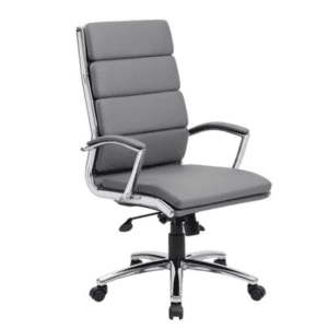 Holland Park High Back Executive Chair - Gray