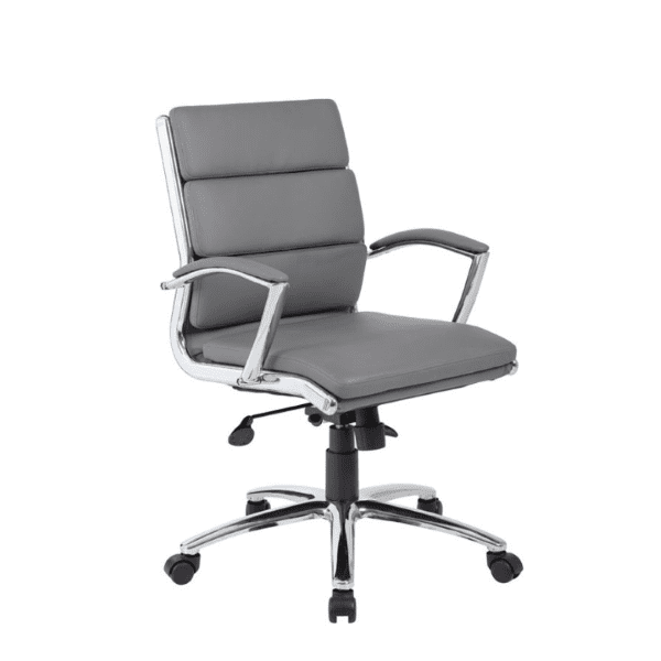 Holland Park Mid Back Executive Chair - Gray
