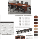 Oval Shaped Conference Tables - Chart