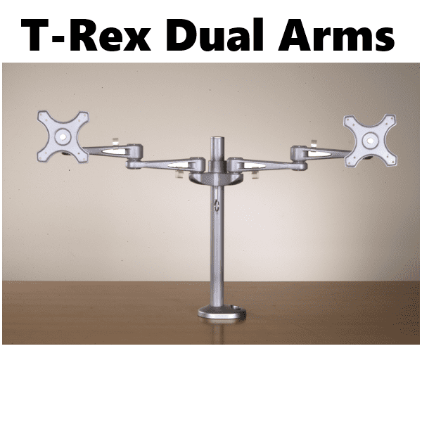 T Rex Dual Monitor Arms