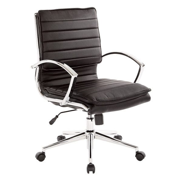 ofd-591c-ribbed-mid-back-chair-loop-arms-black-faux-leather