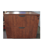 2 Drawer Lateral File Cabinet - Cherry
