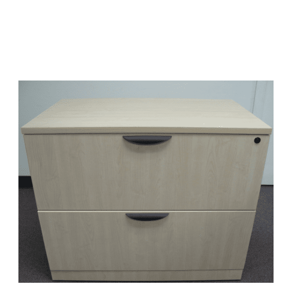 2 Drawer Lateral File Cabinet - Maple
