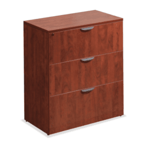 3 Drawer Lateral File Cabinet - Cherry