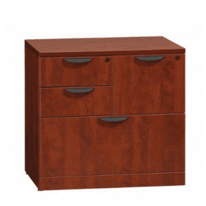 Combination Lateral File Cabinet - Cherry