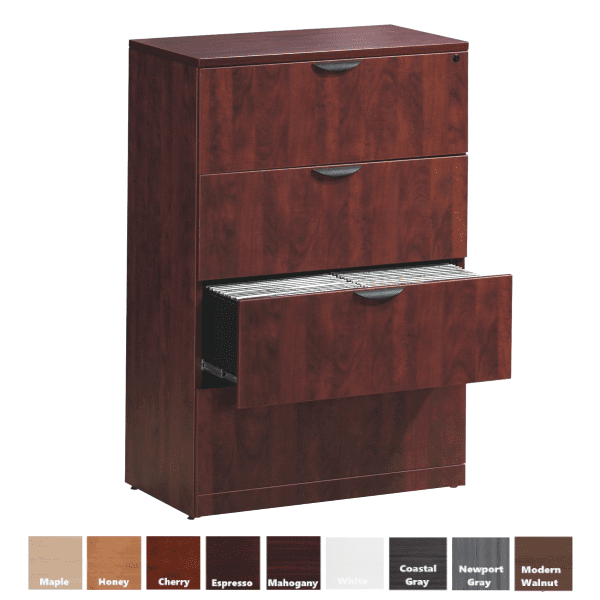 4 Drawer Lateral File PL