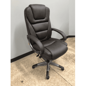 6-8601 Brown & Titanium Executive Chair.