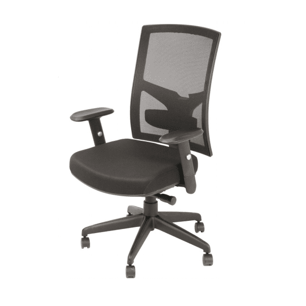 AR-1509 Black Mesh Task Chair - Right Facing