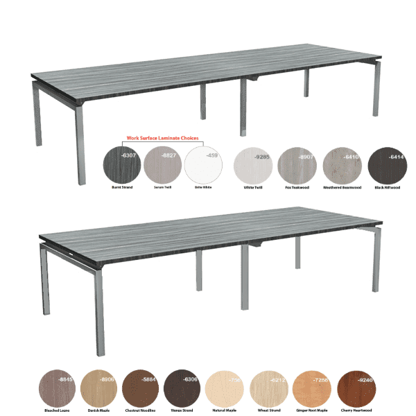 Bench iT 12 Feet Rectangular Conference Table