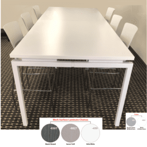 "42"" tall rectangular conference table"