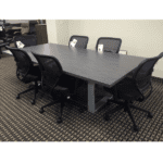 Connect iT 8' Conference Table with Mesh Seating