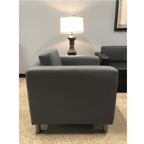 Contemporary Lounge Chair - Gray
