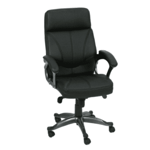 KB-9621A Black High Back Executive Chair
