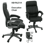 KB-9621A Executive Chairs with Titanium Bases