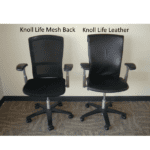 USed Knoll Life Task Chair - Frontal View