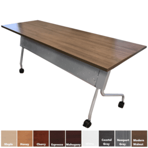 PLT Flip Top Nesting Training Table from Performance Laminate Office Source