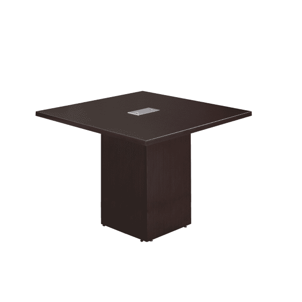 4 x 4 Cube Base Conference Table