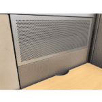 Steelcase Answer Metal Perforated Steel Segmented Panel