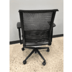 Steelcase Think Chair with Mesh Back + Silver Bars - Rear