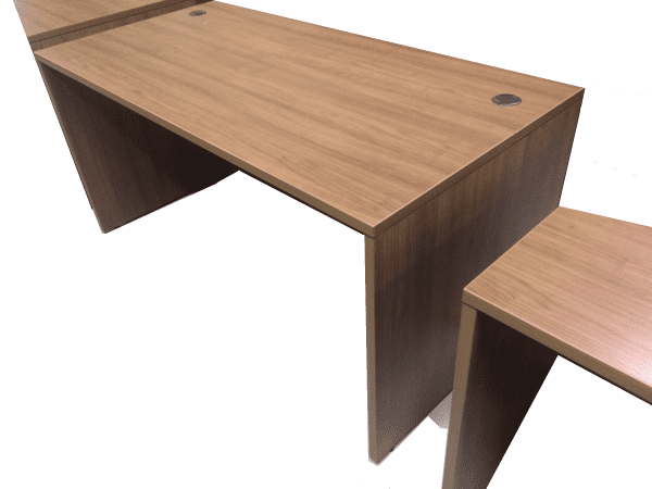 walnut desk shell