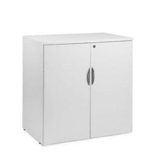 White 36 Inch Tall Storage Cabinet