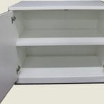29 H White Cabinet - 2 Shelves