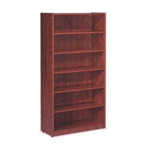 6 Feet Tall 6-Shelf Bookcase - Cherry