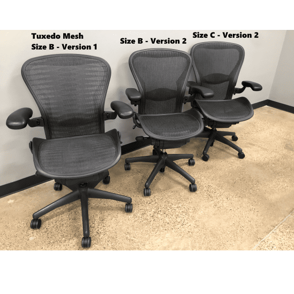 Used Herman Miller Aerons