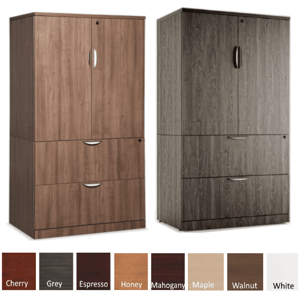 Combination Lateral File Storage CabinetS