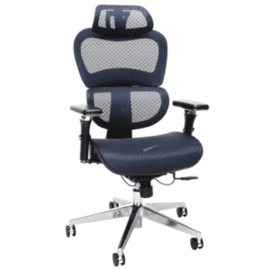 Ergonomic Mesh Chair - Blue - Main