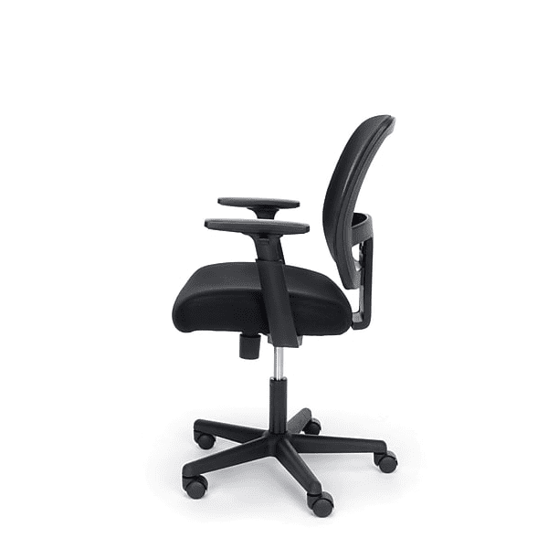 Fundamentals Mid Back Mesh Office Chair - Left