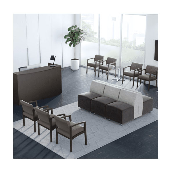 Fuse Modular Reception Seating Waiting Room