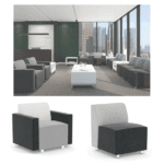 Fuse Modular Two Tone Reception Seating