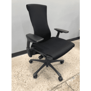 Herman Miller Embody - Black Fabric - Web