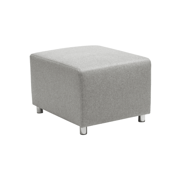 Modular Ottoman in Light Gray