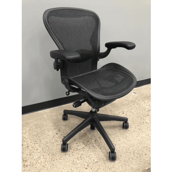 Used Immaculate Condition Herman Miller Aeron - B- Version 2