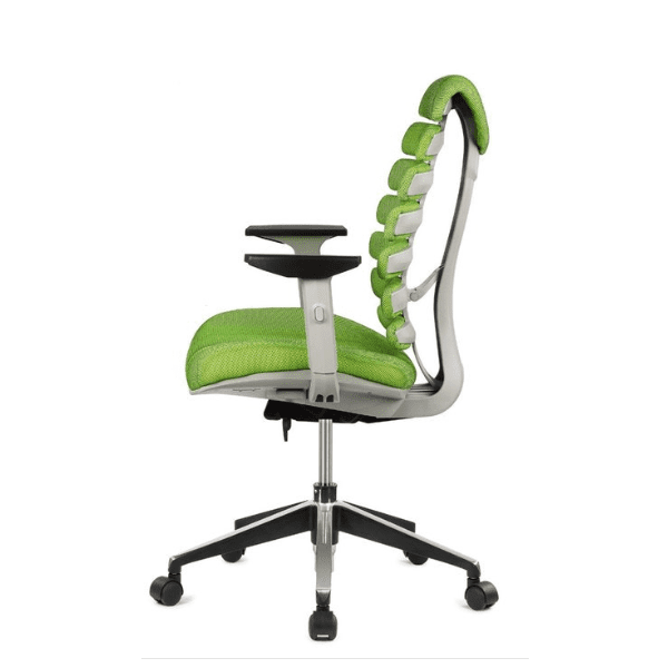 Spine Chair - Green - Side