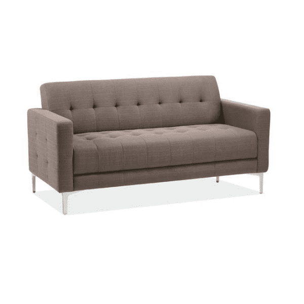 Taupe Fabric Sofa