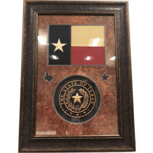 Texas Flag with Seal