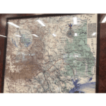 Texas Revolution Map - 1836 - View