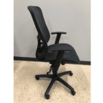 Values All Mesh Ergonomic Task Chair - Side