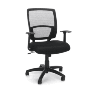 Values NYC Black Mesh Task Chair - T-Arms - main