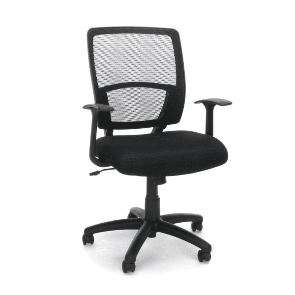 Admirable Values Nyc Ergo Office Chair Fixed T Arms Caraccident5 Cool Chair Designs And Ideas Caraccident5Info