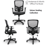 Values Seating Collection Mesh Chair