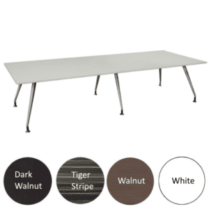 10 or 12 Feet Luna Table - 4 Color Finishes