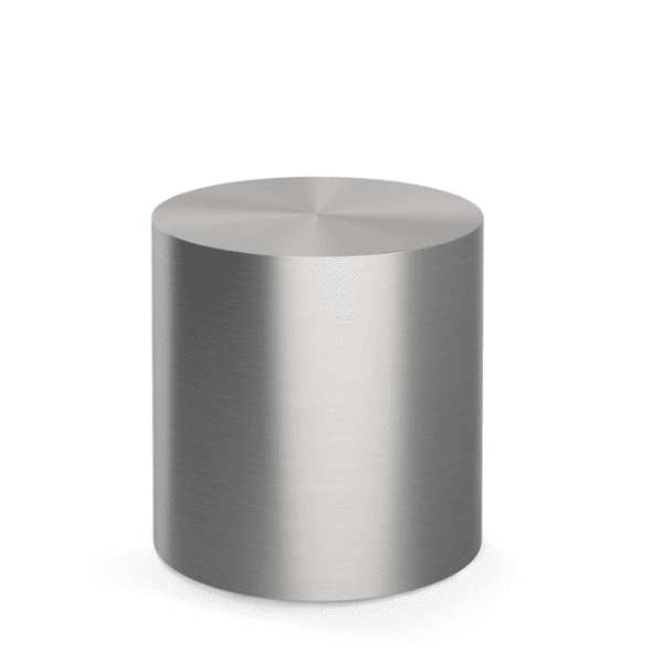 16 Inch Orb Round Cylinder Occasional Table