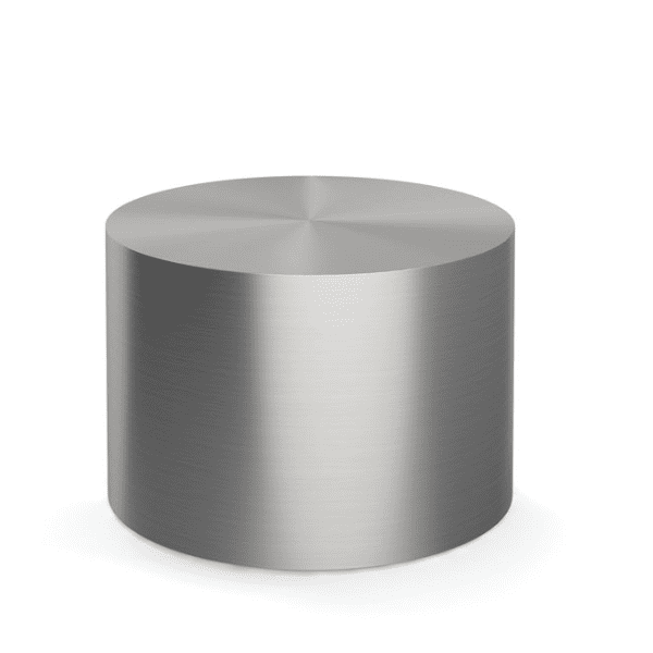 24 Inch Orb Round Cylinder Occasional Table