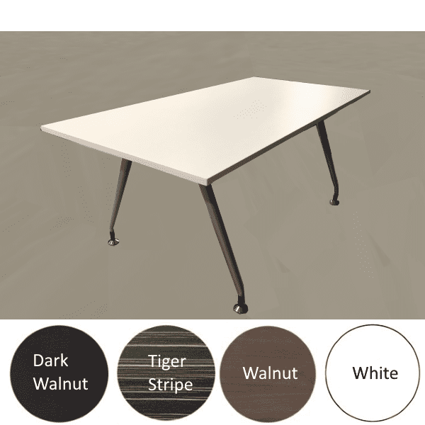 6 Feet Luna Conference Table - 4 Colors